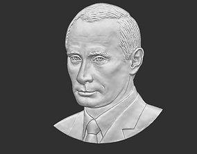 Putin bas-relief 3D print model