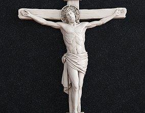 crucifixion Jesus cross crucifix 3D print model
