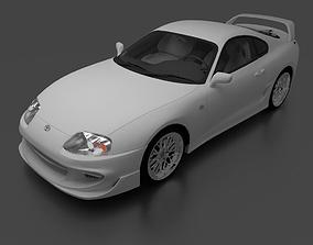 3D Toyota Supra
