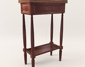 Neoclassical side table - 1860 3D