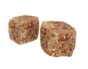 Brown sugar cubes 3D model
