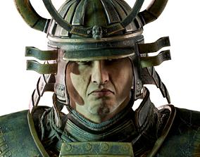 3D asset Samurai Boss