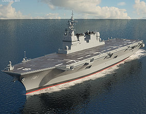 Hyuga-class helicopter destroyer 3D