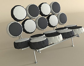 3D Nelson Marshmallow Sofa