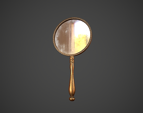 Dirty Hand Mirror 3D model