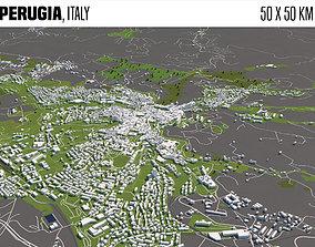 3D Perugia Italy