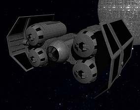 star 3D asset STAR WARS - TIE PUNISHER