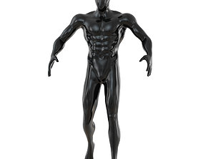 Fitness male mannequin 137 3D model