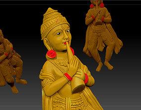 3D print model temple pendant jewelry 4