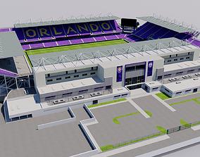 Orlando City Stadium - Exploria Stadium - Orlando USA 3D
