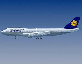 3D model Lufthansa German Airline