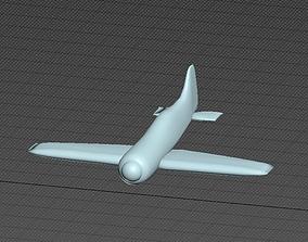 3D model Plane SU-2