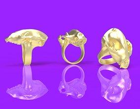 panda ring 3D printable model