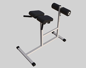 3D model professional bench press 01