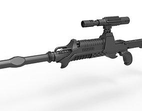 3D Klingon Assassin Rifle from Star Trek The Undiscovered