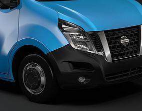 3D model Nissan NV 400 L3H2 Van 2017