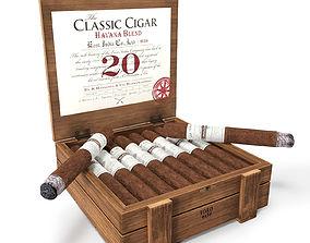 3D East India Classic cigar Havana Blend