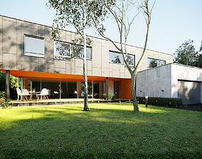 3D model Exterior House Design 4