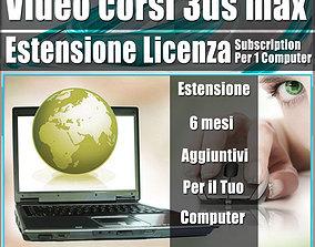 3D model Estensione licenza Subscription 6 mesi 1 computer
