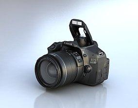 Canon 600D 3D model