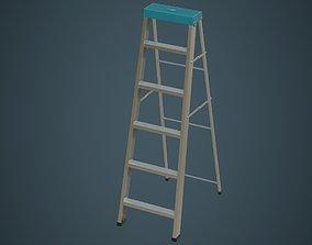 Step Ladder 5A 3D model
