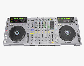 3D model DJ Set Pioneer