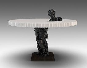 3D model HOMMES - METIS - Pedestal Table
