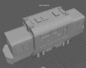 3D printable model LOCOMOTORA