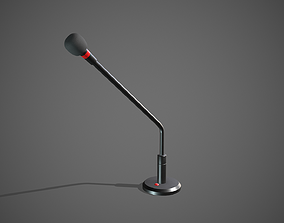 Microphone 3D model realtime