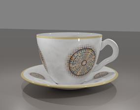 COFFEE CUP general-decor 3D model PBR