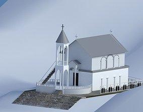 The church- skaldi --georgia 3D asset