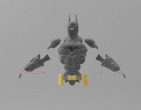 Batman Arkham Knight Full armor 3D printable model