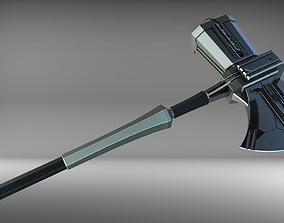 3D print model Stormbreaker Asgardian Handle from Road 4