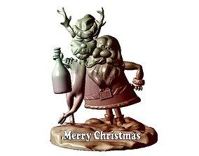 Merry Christmas 3D model miniatures