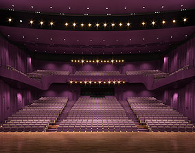 stage Opera hall 3D model