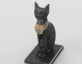 3D model Egyptian goddess Bastet figurine