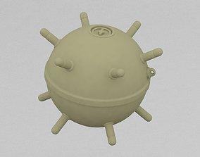 hoggish 3D printable model Submarine Bomb