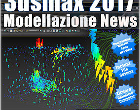 3ds max 2017 Modellazione News vol 64 MP4 animated