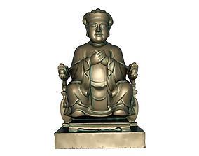 3D printable model 3D asset God of wealth