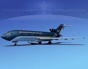 3D model Boeing 727-100 Scotsman