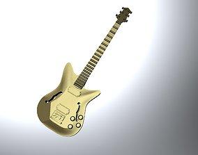 3D printable model pop Guitar