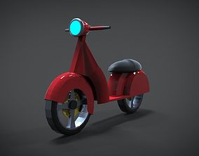 Scooter 3D model VR / AR ready