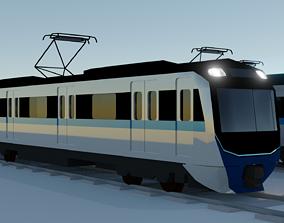 3D Jakarta MRT - No Interior