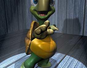 3D asset Cartoon Turtle Rigged