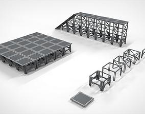 Sci Fi Modular Environment 4 3D
