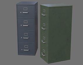 3D model Filing Cabinet 1B