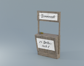 Lemonade Stand 3D model