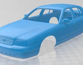 Crown Victoria Printable Body Car