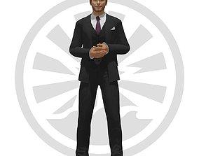 3D model rigged Chris Pratt