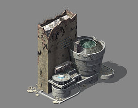 Different dimension - architecture - ruins 07 3D model